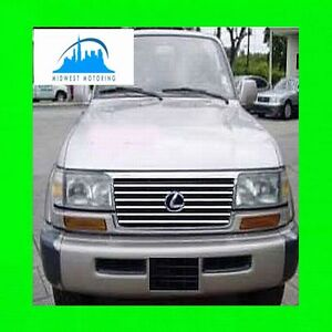 1996 1997 Lexus Lx450 Lx 450 Chrome Trim For Grill Grille W 5yr Warranty
