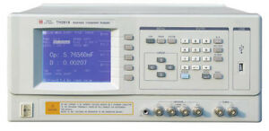 Th2818 Automatic Component Analyzer Frequency 20hz To 300khz 0 01hz Resolution