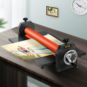 39in Manual Cold Roll Laminator Vinyl Photo Film Laminating Promotion Painting