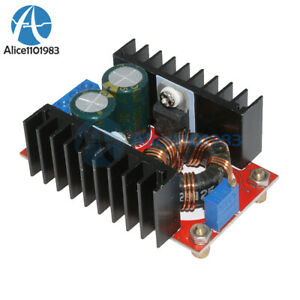 150w Dc dc Boost Converter 10 32v To 12 35v 6a Step Up Charger Power Module