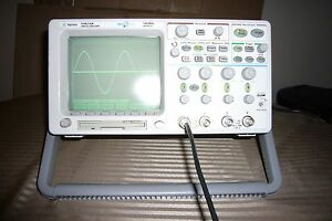 Agilent Hp 54624a Digital Oscilloscope 100mhz 200ms s Megazoom 4 Channels Fft