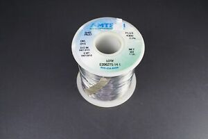 4300 Amtech Solder Wire Sn63 Pb37 Tin Lead 015 2 2 Flux Core 11oz Partial