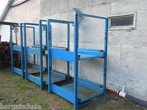 Large Industrial Storage Unit With Drawers