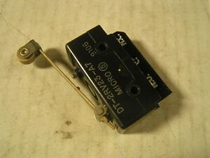 Miller Part Number 035967 Switch Limit 10 Amp 125v Roll Lever