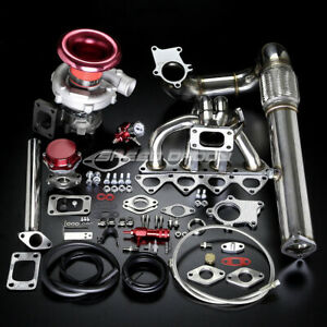 B series B16 B18 T04e Stage Ii Turbo Charger Manifold Upgrade Kit Em1 Db9 Dc2