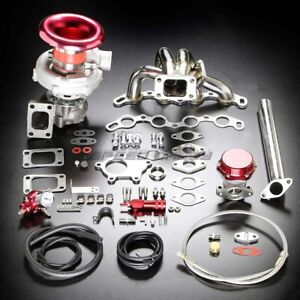 4age T04e Stage Ii Turbo Charger Manifold Upgrade Kit Boost For 85 91 Mr2 Ae86