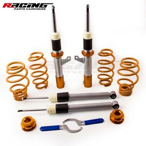 Coilovers Suspenison Kits For Vw Mk5 Mk6 Golf Jetta Gti 2006 2014 Coil Springs