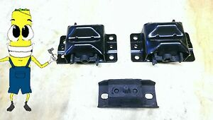 Motor Transmission Mount Kit For Chevy Camaro With 350 5 7l Engine 1976 1992