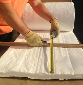 2 Ceramic Fiber Insulation Blanket 2400f Cerablanket 8 Thermal Ceramic 36 x24