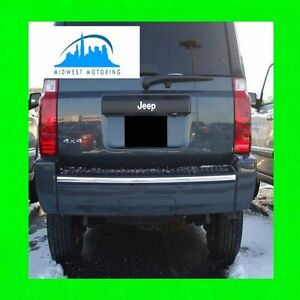 2006 2010 Jeep Commander Chrome Trunk Tailgate Trim Molding 2007 2008 2009