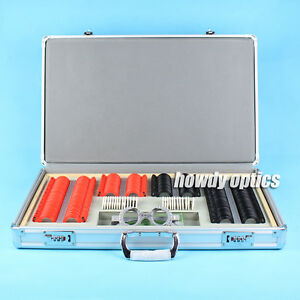 266pc Trial Lens Case Optical Trial Lens Set Aluminum Case Free Trial Frame