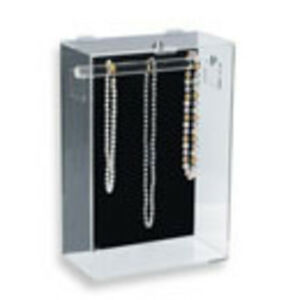 Beautiful Theft proof Necklace Display Case Countertop Model Quality