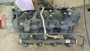 Chevy Ls Intake Manifold With Injectors And Throttle Body