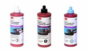 3m Perfect it Compound Polish Kit 39060 39061 39062 Buffing