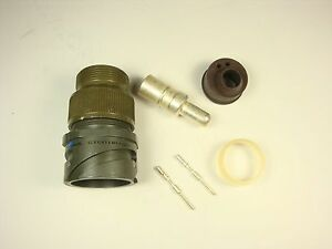 Cir01rv22 21pf80 Amphenol Mil Circular Connector Kit Sz 22 21 Gtc01rv22 21p Nos