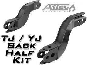 Artec Back Half Frame Kit For 1987 2006 Jeep Wrangler Tj Lj Yj Raw Fk0002