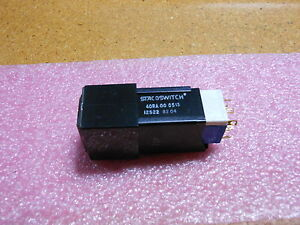 Staco Push Switch 40ra 000513 Nsn 5930 01 114 5266 fault Verif On Off