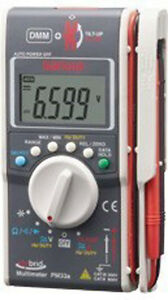 Sanwa Pm33a Digital Multimeters Ac Dc Ohm Hybrid Pocket Size Dmm clamp Meter
