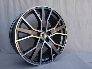 18 Brand New Rs6 Style Wheels For Audi A4 A6 A5 A7 Or Vw Passat 35mm