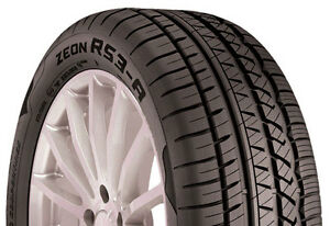 4 New 215 45r17 Inch Cooper Zeon Rs3 a Tires 215 45 17 R17 2154517 Treadwear 500