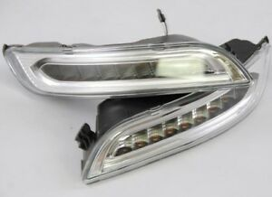 Porsche 997 911 2005 2008 Dectane Led Drl Driving Lamps Foglamps Brand New