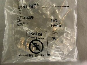 25 Dialight 515 1000f 3x5 5mm Rect Micro Led Optopipe Optical Lt Pipe 3 Array