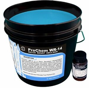 Cci Prochem Wr 14 Emulsion For Plastisol And Water base Ink 1 Gl Free Shipping