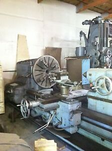 American Pacemaker Model 32 Engine Lathe 48 x62 Good Condition