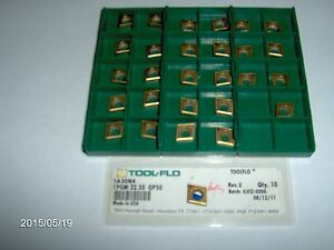 Cpgm 32 50 Gp50 tool flo Carbide Turning Insert 10 Pieces