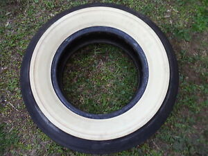 H78 15 Wide White Wall Tire Supreme 78 Older Tire 3 1 2 White Wall Spare Tire