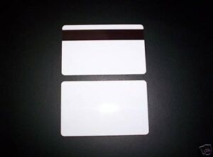 50 Pvc Plastic Id Cards 30mil Hi Co Magnetic Mag Stripe