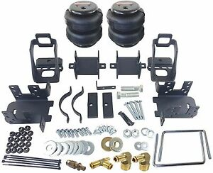 Rear Axle Level Air Tow Assist Kit 1999 2004 Ford F350 1 Ton Pick Up Over Load