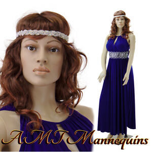 Female Mannequin Display Sexy Manquin Head Rotate Full Body Manikin sp24 2wigs