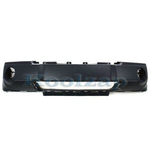 05 07 Gr Cherokee Front Bumper Cover Assembly Primed Plastic Ch1000450 5159124aa