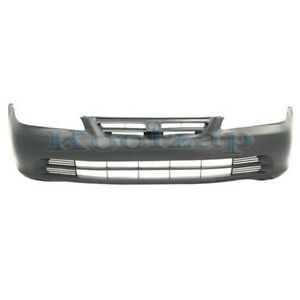 01 02 Accord Sedan Front Bumper Cover Assembly Primed Ho1000196 04711s84a91zz
