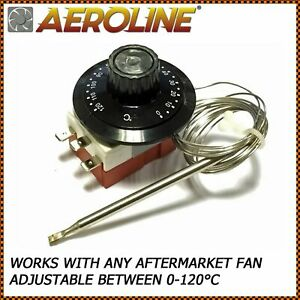Aeroline Capillary Thermostat Cooling Radiator Fan Control Switch 0 120 c