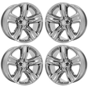 20 Dodge Ram 1500 Truck Pvd Chrome Wheels Rims Factory Oem Set 4 2453 Exchange