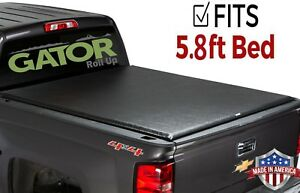 Gator Etx Roll Up Fits 2014 2018 Silverado Sierra 5 8 Ft Tonneau Bed Cover