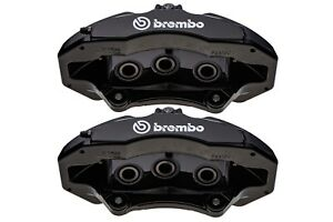 2015 2017 Ford Mustang 50th Anniversary Gt Black Brembo Front Brake Calipers Oem