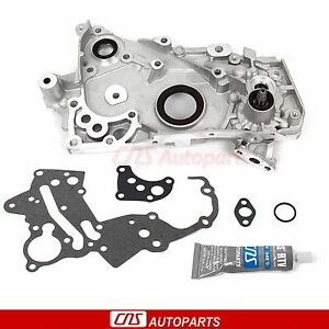 Oil Pump Fits 89 92 Mitsubishi Eclipse Galant Eagle Plymouth Turbo 4g63t 4g63 2l