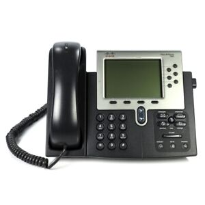 Cisco Cp 7962g 7962 Unified Voip Ip Office Business Phone 7960 Series No Ac