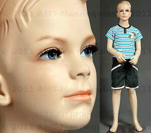 Child Male Mannequin Standing Boy Handmade Maniquin Display Manikin Ted