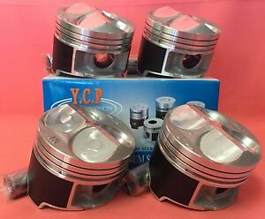 Ycp B16 B18 81mm Jdm High Compression Pistons Acura Honda Civic Si Type R