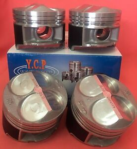 Ycp B16 B18 81 5mm 020 50 Jdm High Comp Pistons Acura Honda Civic Si Type R