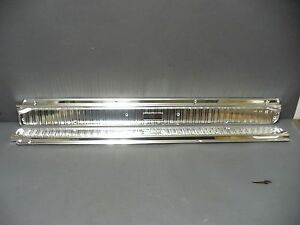 63 64 65 Falcon Comet Door Sill Plates Scuff Convertible Only