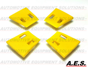 John Bean Snap on Tire Changer Protective Jaw Inserts Yellow