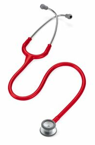 Littmann Classic Ii Pediatric Stethoscope Red 1 Ea