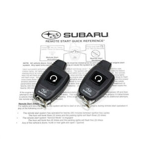 2015 2016 Subaru Legacy Outback Remote Engine Start Turn Key Models Oem New