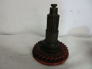 Allis Chalmers D12 Tractor Original Stub Axle W sprocket