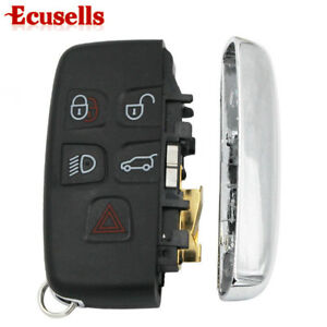 5 Buttons Smart Remote Car Key Replace Shell For Range Rover Evoque Jlr Xfjf